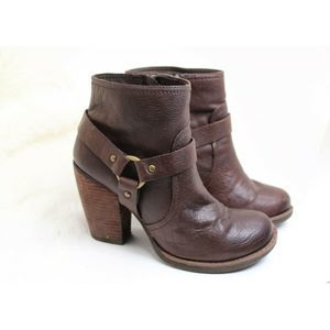 Korks by Kork Ease Farrah Brown leather bootie 8